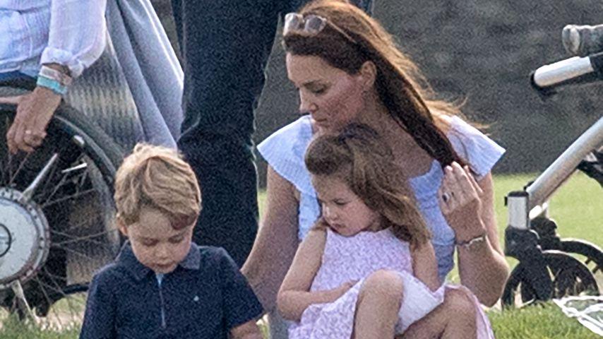 Herzogin Kate mit ihren Kids Prinz George und Prinzessin Charlotte