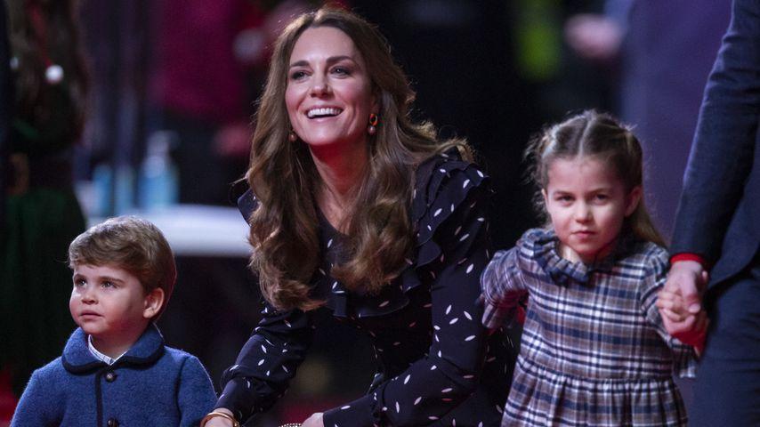 Herzogin Kate mit ihren Kids