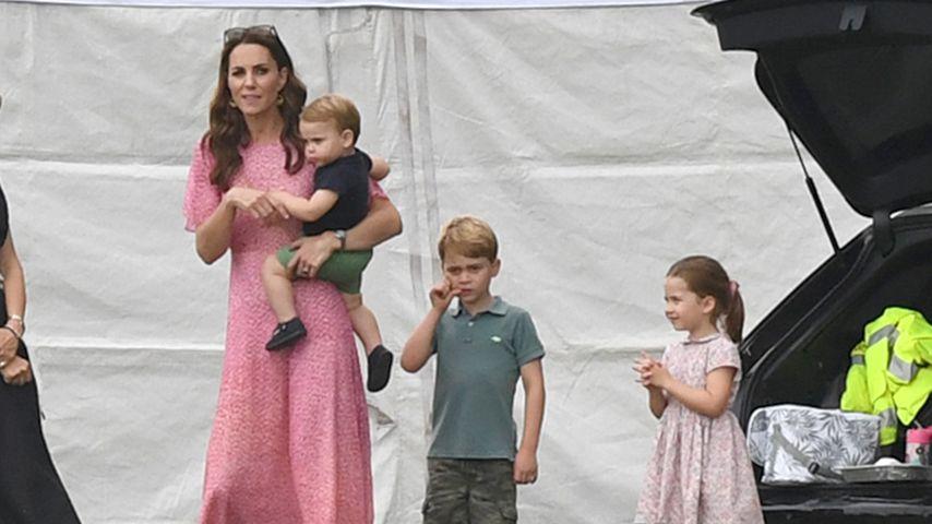 Bei Papas Polo-Spiel: Herzogin Kate total entspannt mit Kids