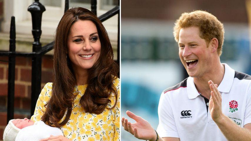 Party-Prinzessin: Wird Charlotte wie ihr Onkel Harry?