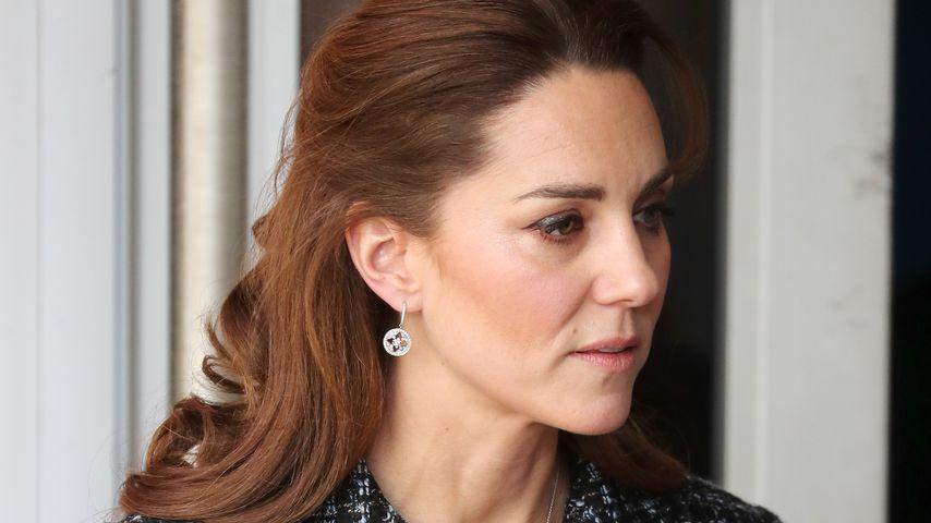 Herzogin Kate zu Besuch im Evelina London Children's Hospital, Januar 2020