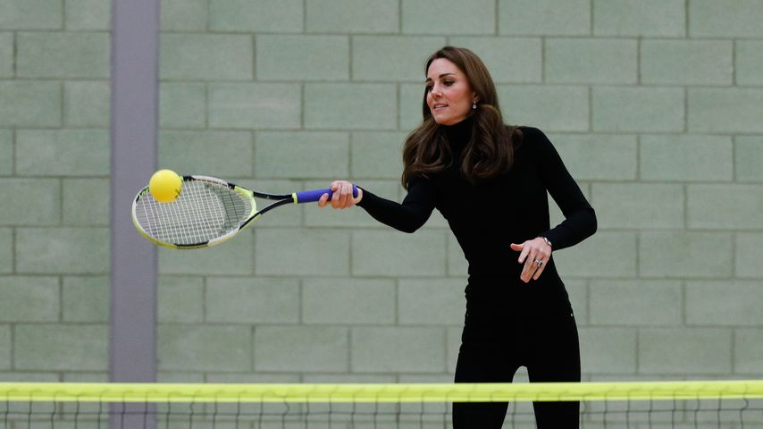 Herzogin Kate von Cambridge in Basildon