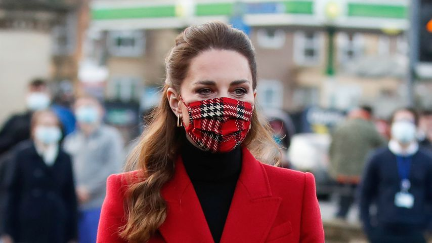 Herzogin Kate, Dezember 2020 in London