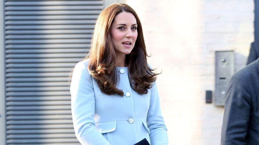 Herzogin Kate in Baby-Blau: Wird es ein 2. Prinz?