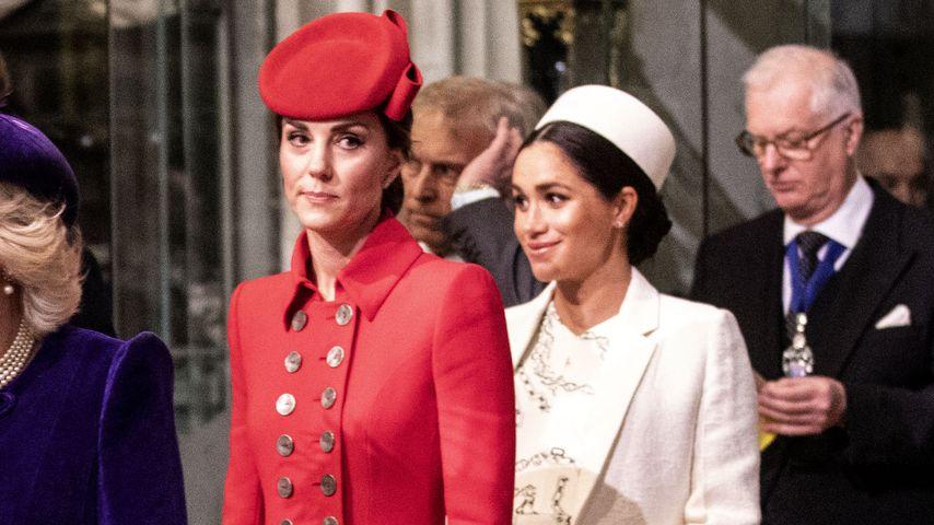 Herzogin Kate und Herzogin Meghan in London