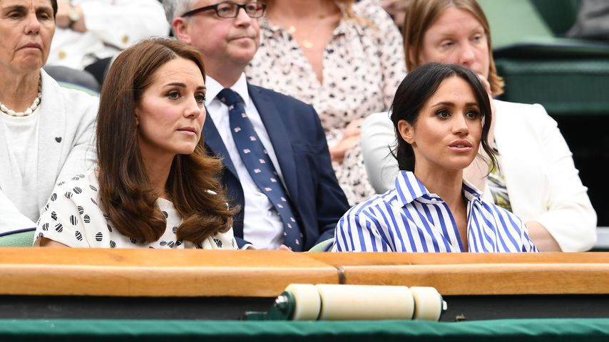 Das sollten Kate und Meghan bei der Queen nicht mehr tragen