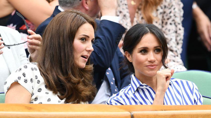 Herzogin Kate und Herzogin Meghan, Juli 2018