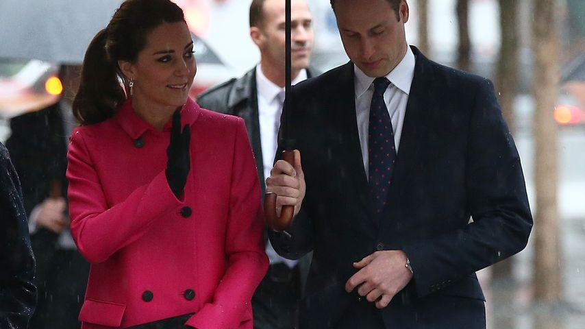 Herzogin Kate und Prinz William in New York