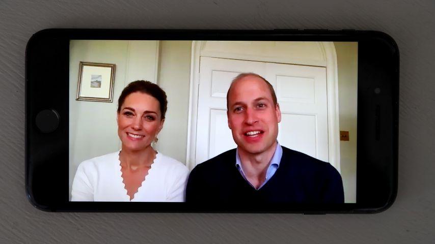 Herzogin Kate und Prinz William, Mai 2020