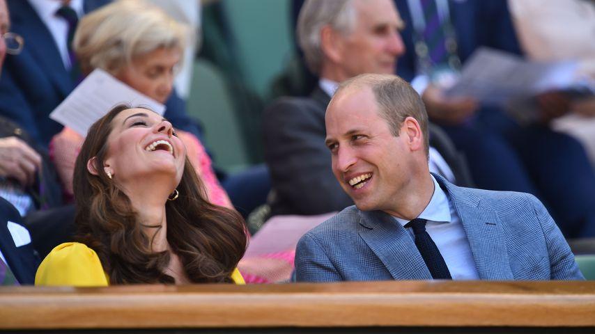 Herzogin Kate und Prinz William beim Männerfinale in Wimbledon 2018