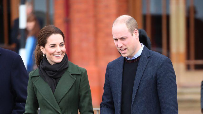 Herzogin Kate foppt William gerne wegen seiner Halbglatze