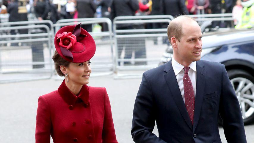 Herzogin Kate und Prinz William im März 2020