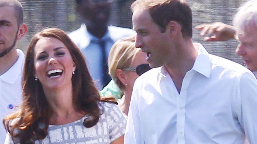 Kate & William zeigen sich ganz natürlich