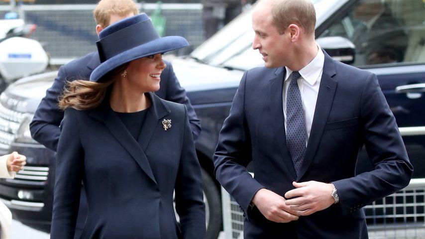 Herzogin Kate: Letzter öffentlicher Auftritt vor dem Mutterschaftsurlaub