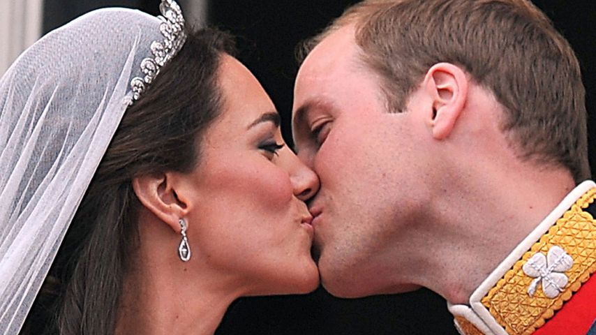 Herzogin Kate und Prinz bei ihrer Hochzeit im April 2011