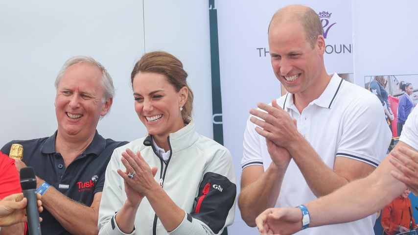 "Herzogin Kate und Prinz William bei der ""King's Cup""-Regatta"