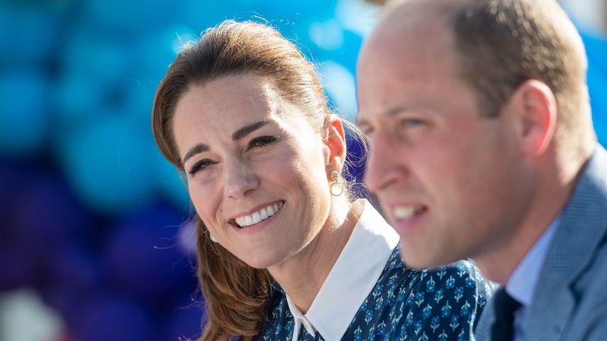 Herzogin Kate und Prinz William, 2020