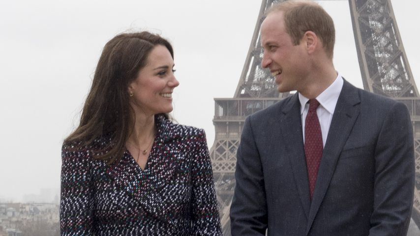Herzogin Kate und Prinz William in Paris im Mai 2017