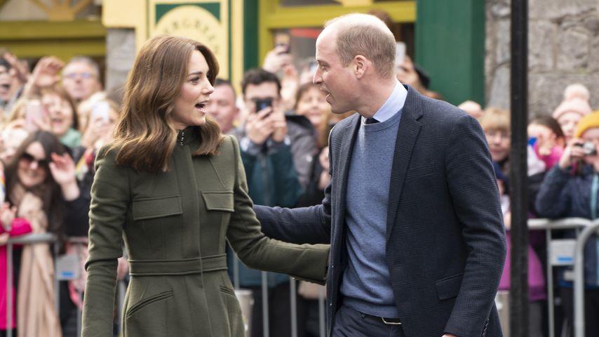 Herzogin Kate und Prinz William im März 2020 in Irland