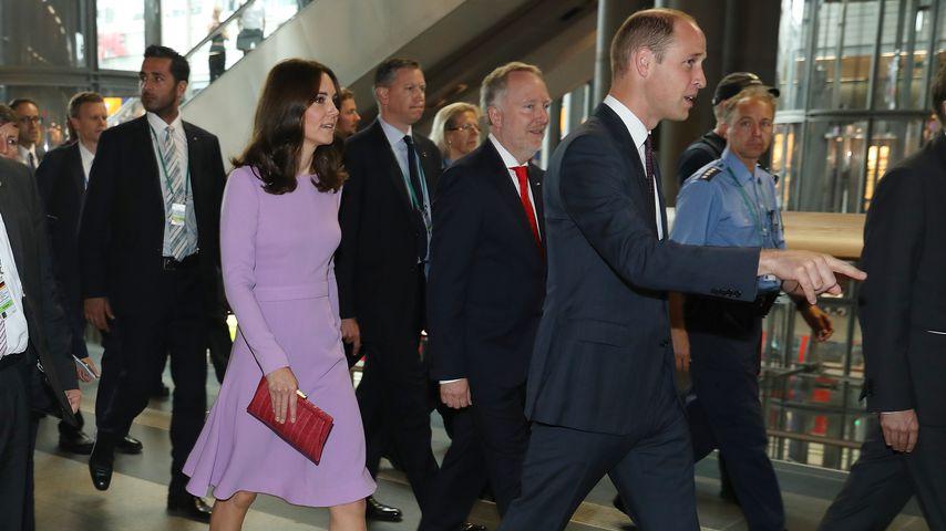 Herzogin Kate und Prinz William in Berlin