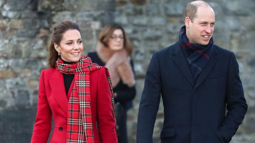 Verbringen William und Kate Weihnachten bei den Middletons?