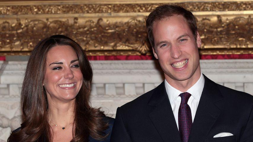 Heute vor acht Jahren bestätigten Kate & William Verlobung!