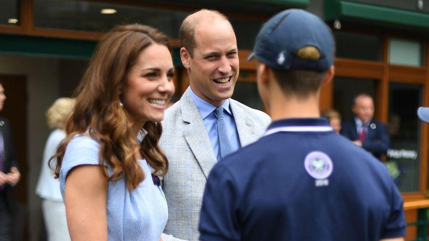 Farblich perfekt abgestimmt: Kate & William in Wimbledon
