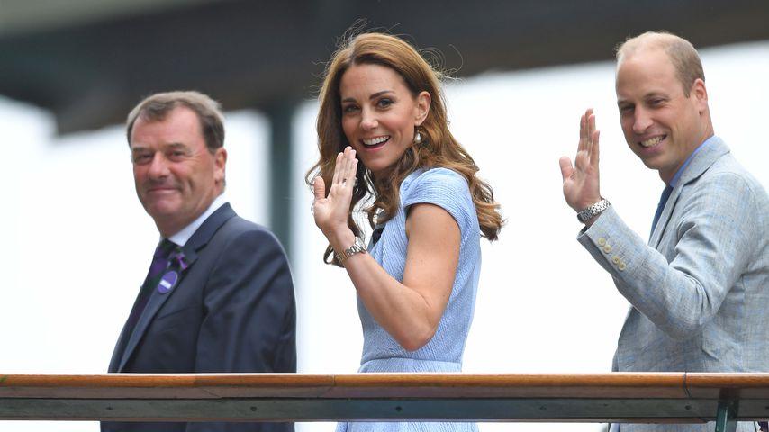 Kate und William nehmen für Rückflug auch Billig-Maschine