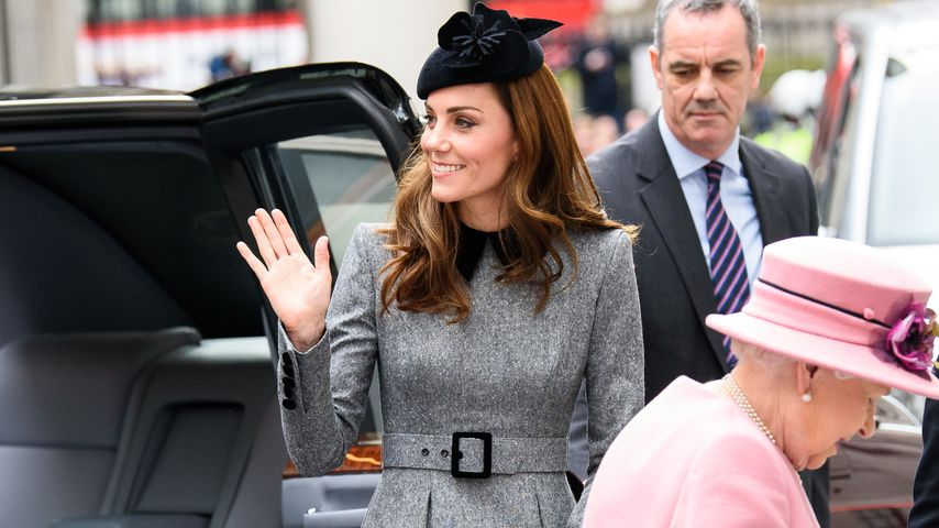 Herzogin Kate und Queen Elizabeth II. im März 2019