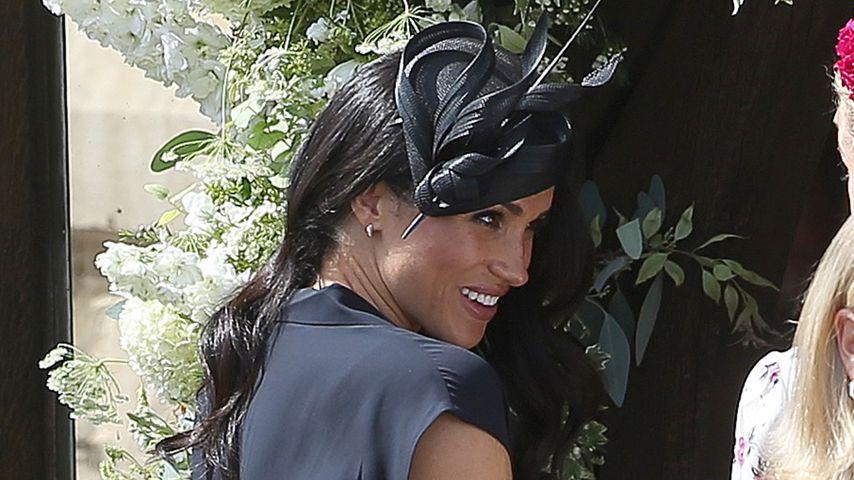 Herzogin Meghan bei der Hochzeit von Charlie Van Straubenzees