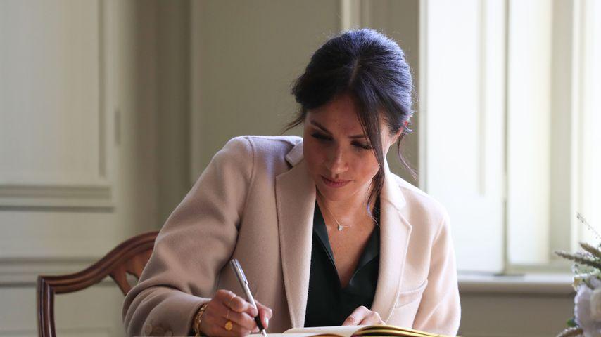 Herzogin Meghan bei ihrem Besuch in Sussex im Oktober 2018