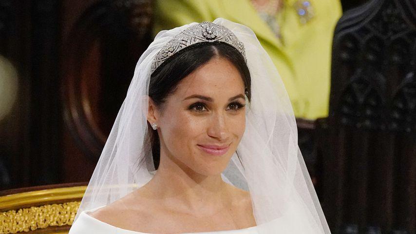 Meghan erinnert sich an Hochzeits-Tiara-Auswahl mit Queen