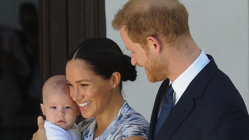 Herzogin Meghan zusammen mit Söhnchen Archie und Prinz Harry in Kapstadt