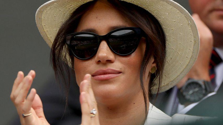 Unangebrachtes Verhalten? Meghan eckt in Wimbledon an!