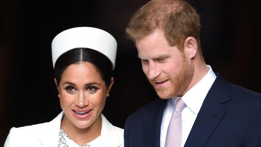 Herzogin Meghan und Prinz Harry 2019 in London