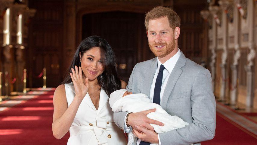 Nach Baby-Verkündung: Meghans Kleid wird zum Netz-Hit!
