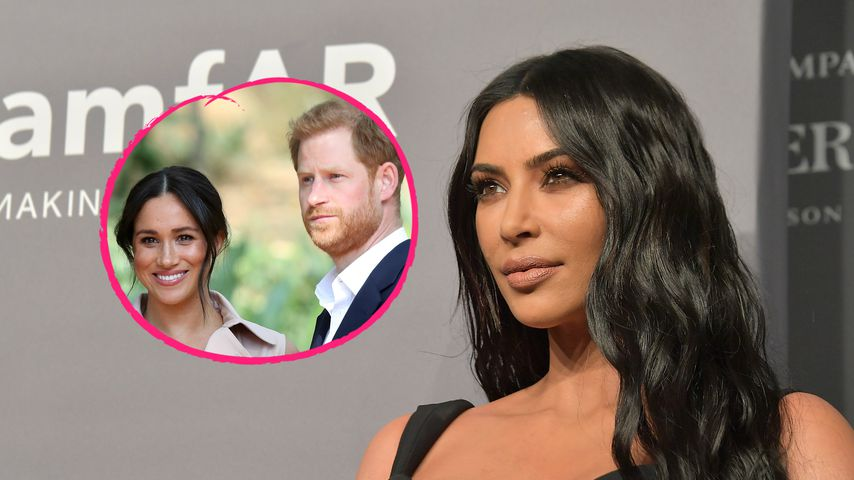 Kim Kardashian lobt den Einsatz von Prinz Harry und Meghan