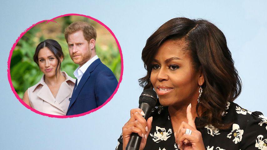 Michelle Obama hofft auf Vergebung im britischen Royal-Zoff