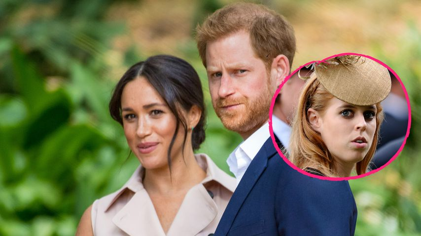 Besuchen Meghan und Harry Prinzessin Beatrice' Hochzeit?