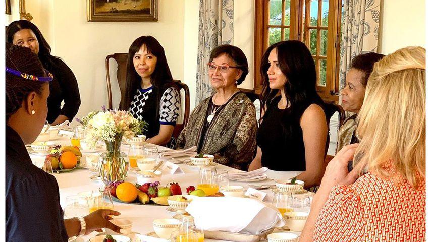 Herzogin Meghan bei einem Event für Frauenrechte