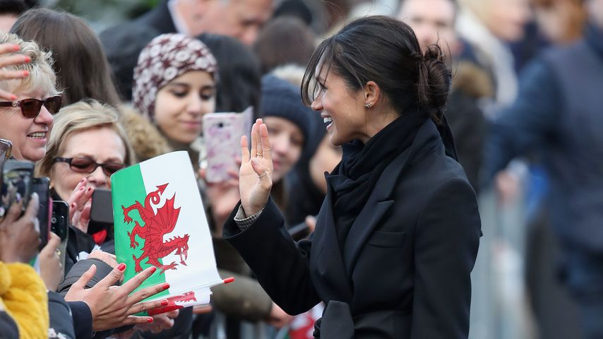 Herzogin Meghan in Cardiff, Januar 2018