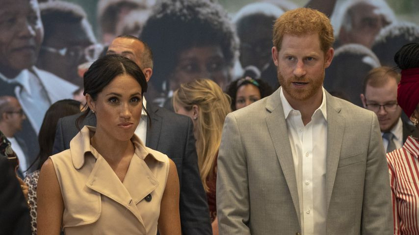 Herzogin Meghan und Prinz Harry bei der The Nelson Mandela Centenary Exhibition