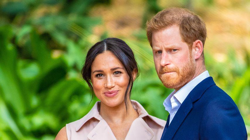 Herzogin Meghan und Prinz Harry im Januar 2020