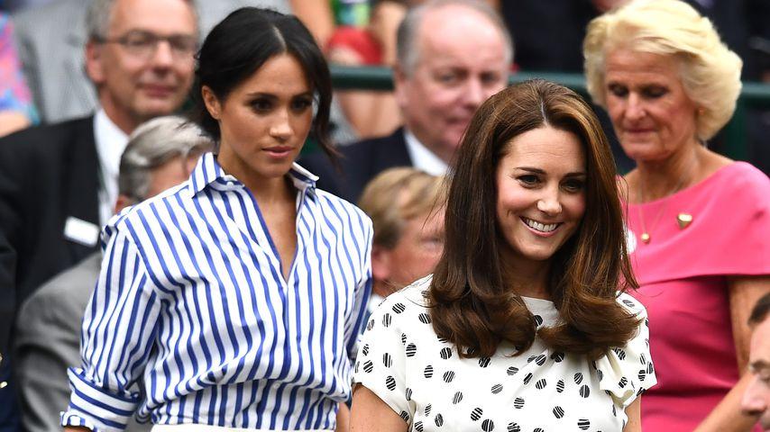 Herzogin Meghan und Herzogin Kate beim Wimbledon-Turnier 2018