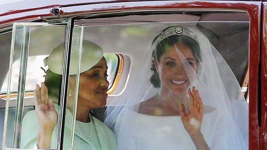 Herzogin Meghan mit ihrer Mutter Doria Ragland, Mai 2018