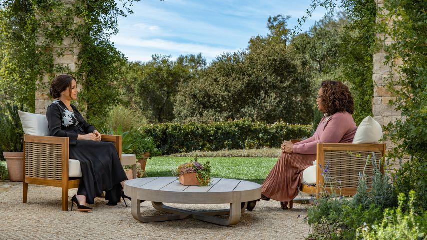 Herzogin Meghan und Oprah Winfrey, März 2021