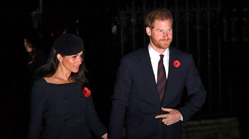 Herzogin Meghan und Prinz Harry im November 2018