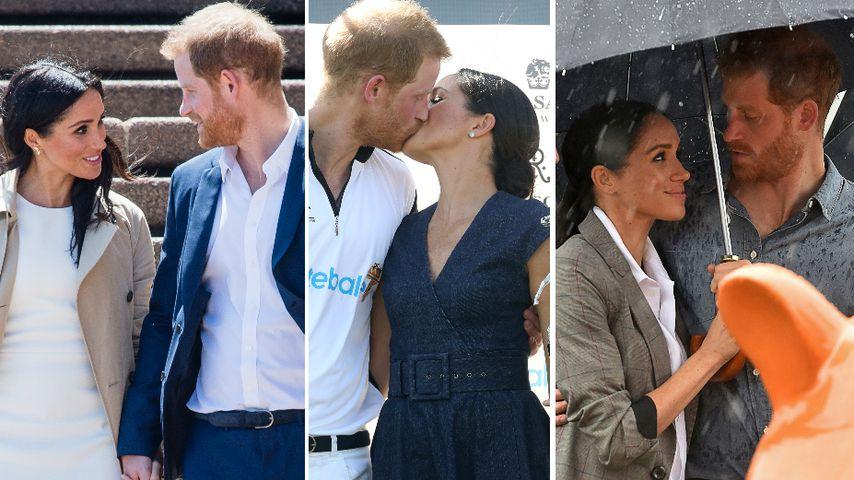 Ein Jahr seit Harry & Meghans Verlobung: Die süßesten Szenen