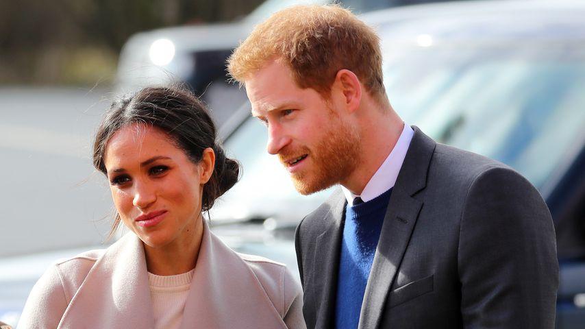 Herzogin Meghan und Prinz Harry im März 2018