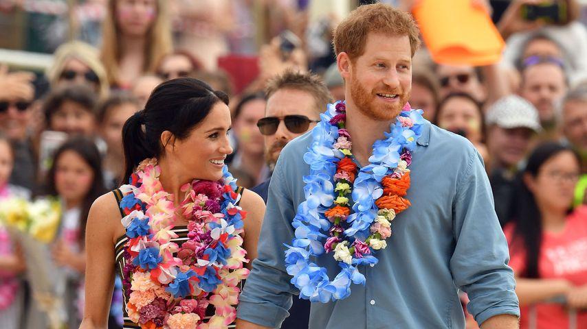 Herzogin Meghan und Prinz Harry am Bondi Beach 2018